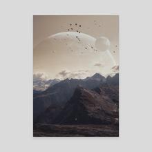 Genesis - Canvas by Gerro