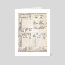 Fyldewyn Castle - Art Card by Daniel Hasenbos