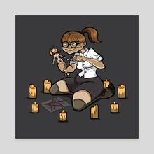 A Little Revenge - Canvas by Jennifer Smith