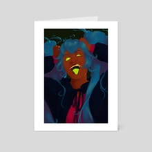 Miku - Art Card by Ally R