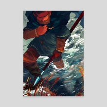 GISLI'S RESOLVE - Canvas by Celia Lowenthal