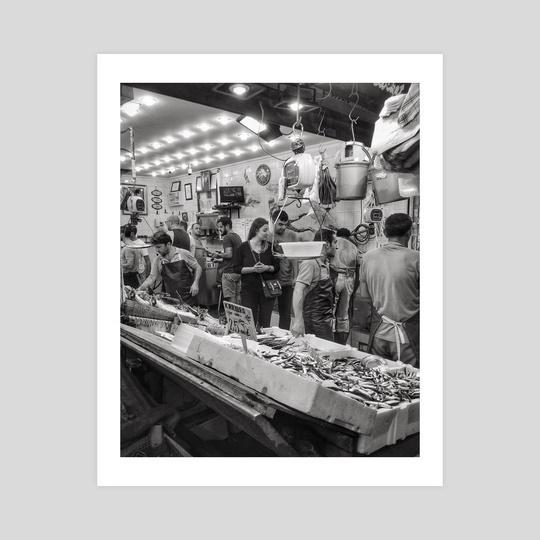 Istanbul Snapshot Series -Kadikoy Fish Market by Louis Rouse
