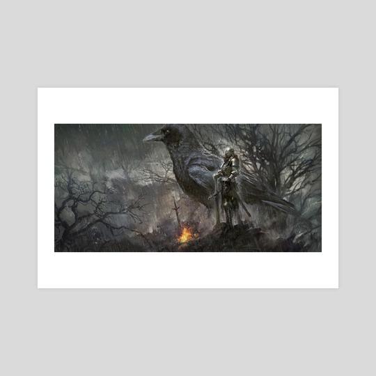 Dark Souls:Firelink Shrine by Pablo Fernandez