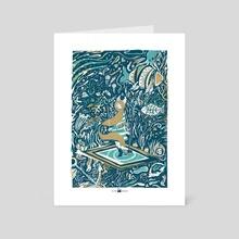 The Sea - Art Card by öckto Lambert