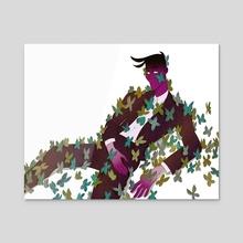 butterflies  - Acrylic by atremu