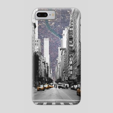 Cityception - Phone Case by Alexandre Ibáñez