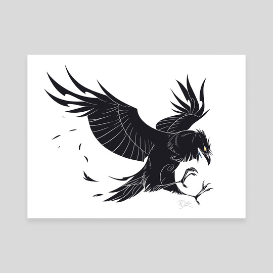 Crow style by Lorene BARIOZ