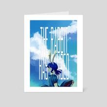 Moon Rabbit - Art Card by pop art