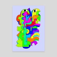 Strumpet - Canvas by Alberto Carlos  Montana  © ( ͡° ʖ̯ ͡°)