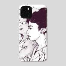 Wolf Witch - Phone Case by Serena Archetti