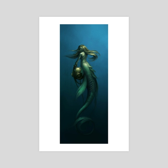 Deepsea Mermaid by Zara Alfonso