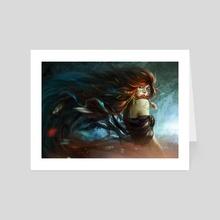 Wind Queen - Art Card by Rustam Babadjanov