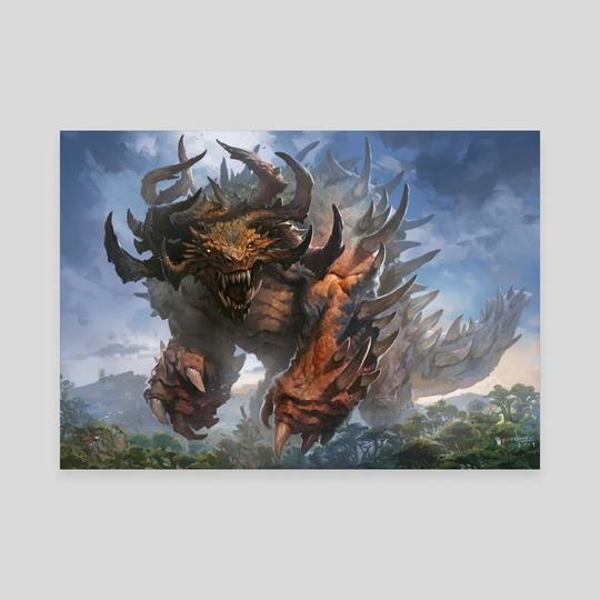 Titanroth Rex by Svetlin Velinov