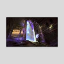 Magical Gate - Canvas by Nele Diel