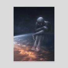 Galaxy Gazer - Canvas by Allison Chin