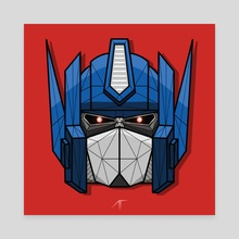 Optimus Prime - Canvas by Animesh Tewari
