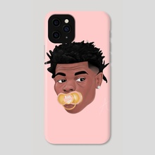 Lil Baby  - Phone Case by Austin Parker