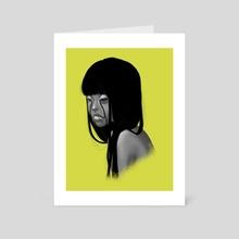 Yeallow - Art Card by Rosário Martins