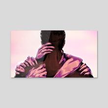 Fake - Acrylic by Oenomene