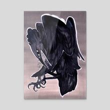 Just A Bird - Acrylic by Naomi Butterfield
