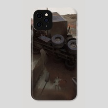 Apparently it's stability - Phone Case by Sergey Kolesov
