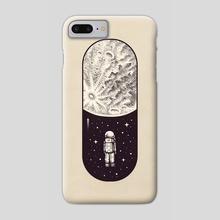 Space Capsule III - Phone Case by Enkel Dika