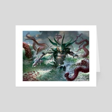 Harbinger of the Tides  - Art Card by Svetlin Velinov