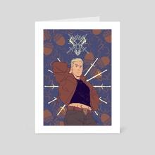 Cass - Art Card by Hannah Templer