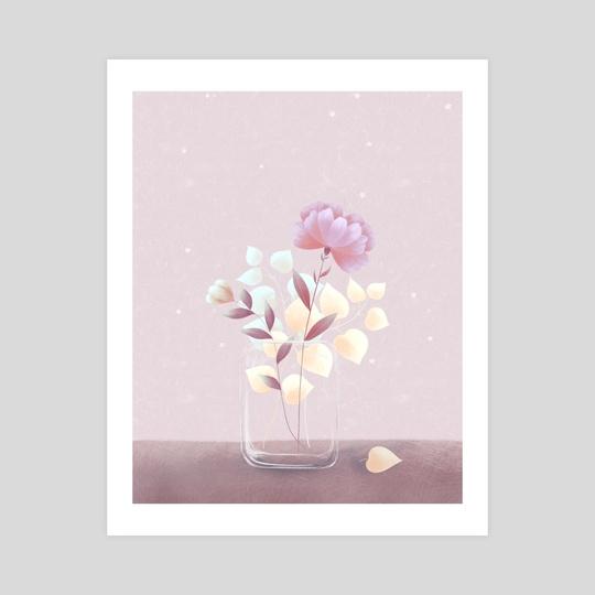 Lunar Flowers by Weronika Salach