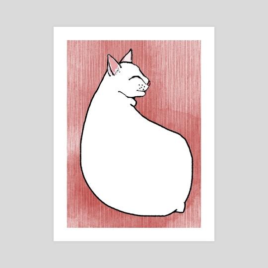 Cat nap by Kimmy Ramone