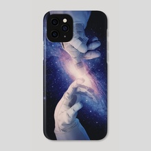 The Creation of the Universe - Phone Case by Enkel Dika