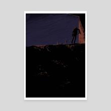 solitude VII - Canvas by Carolina Prata