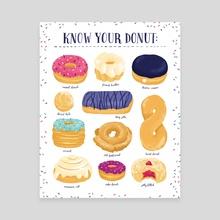 Donut Identification - Canvas by Alyssa Nassner