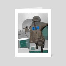 Hydrologic cycle - Art Card by Sergey Kolesov