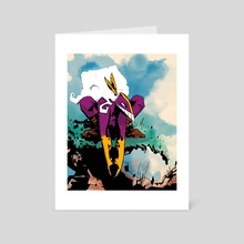 The Maxx (Outback) - Art Card by Mal Jones