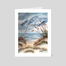 Dunes - Art Card by Derek McCrea