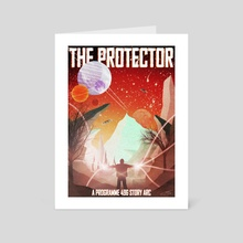 The Protector - Art Card by Jérémy Hervier