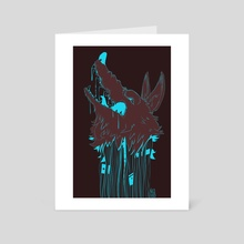 Howl Circuit - Art Card by Nicole Dorosh