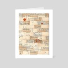 Asphodel - Art Card by Katey Dager