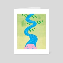River flows in you - Art Card by Sharon Yap