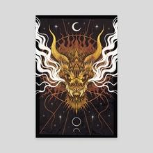 Celestial Dragon - Canvas by Cerid Ellis