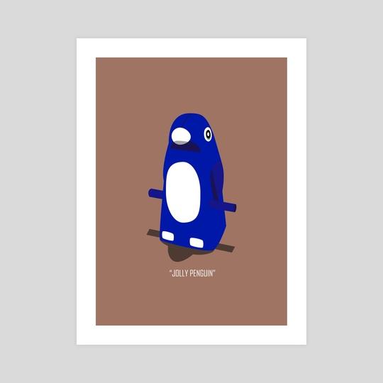 Jolly Penguin by B.B. Wolfe