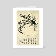Orchid - 102 - Art Card by River Han