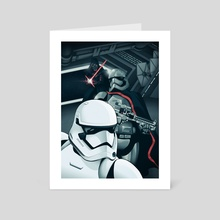 The Force Awakens: The Dark Side - Art Card by Cameron Lewis