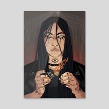 Gerry Keay (TMA) - Acrylic by Éiran Bones