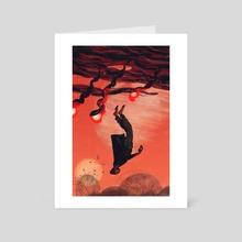 Adrift - Art Card by Alison George