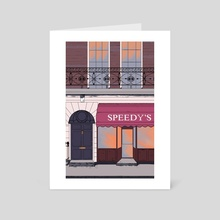 Baker Street - Art Card by Kate Miller