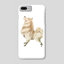 samoyed - Phone Case by ali saei