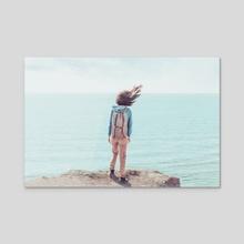 Wanderlust - Acrylic by Aleksei Poprotskii