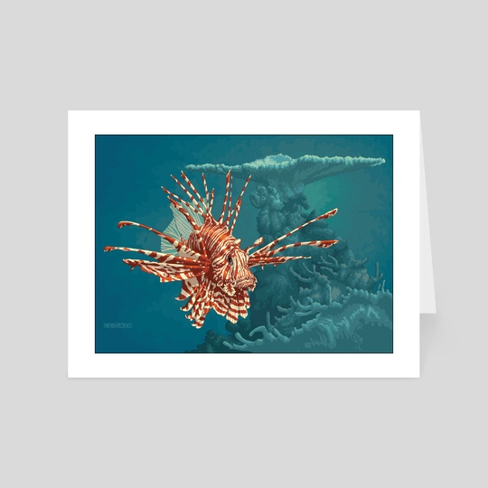 Pterois Volitans by Tom Barrett